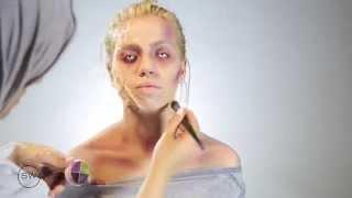 SW01: Zombie Makeup Tutorial | تعليم مكياج الزومبي | سعودية زومبي