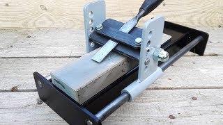 Make the chisel sharpening station