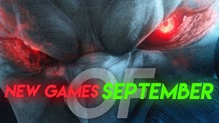 Top 10 NEW Games of September 2017
