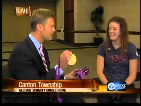 Interview with Allison Schmitt, Olympic gold medalist - YouTube
