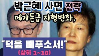 박근혜사면, 메가톤 정치지형 변화, 무슨 전략? 덕을 …