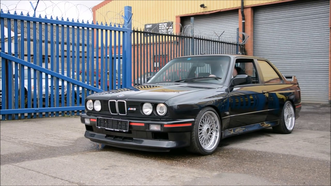 1988 Bmw E30 M3 Burnout S14b23 Bbs Rc