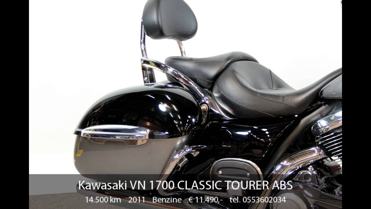 kawasaki vn 1700 classic tourer abs youtube. Black Bedroom Furniture Sets. Home Design Ideas