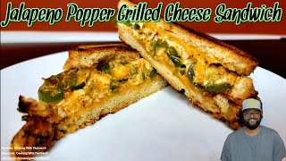 Jalapeno Popper Grilled Cheese Sandwich  Aldi White Bread  Keto  Low Carb  Cooking With Thatown2