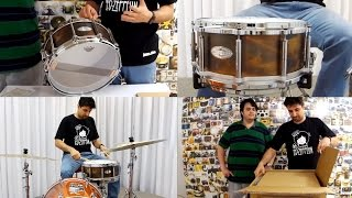 "Unboxing & Play Caixa Pearl Free Floater 30th Annivesary 14x6,5"" Brass (Análise)"