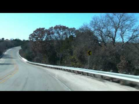 Edwards Plateau, Road from Abilene to San Angelo Texas