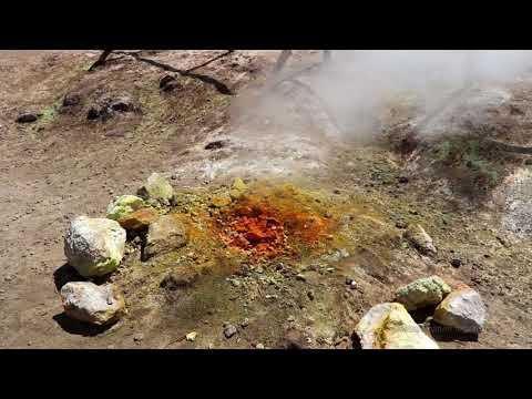 Campi Flegrei - Active volcano - Solfarata (Italy) - July 2017