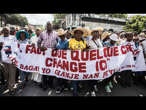 10 Years After Earthquake, Massive Demonstrations Call for Haiti's President to Resign