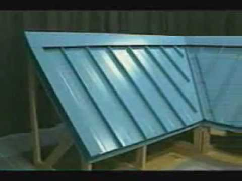 Vintage Video Series How To Install Standing Seam Metal