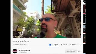 "Kaan Walking Izmir Turkey - ""Beyond A One World System"""