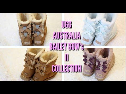 UGG AUSTRALIA BAILEY BOW II COLLECTION