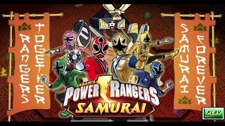 Power Rangers Samurai: Rangers Together, Samurai Forever! - Power Rangers Games