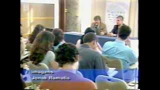 """08/12/2003: Jornal da TV Vitória, institucional """"O Espetáculo é a Vida"""" e vinhetas da TV Vitória"""