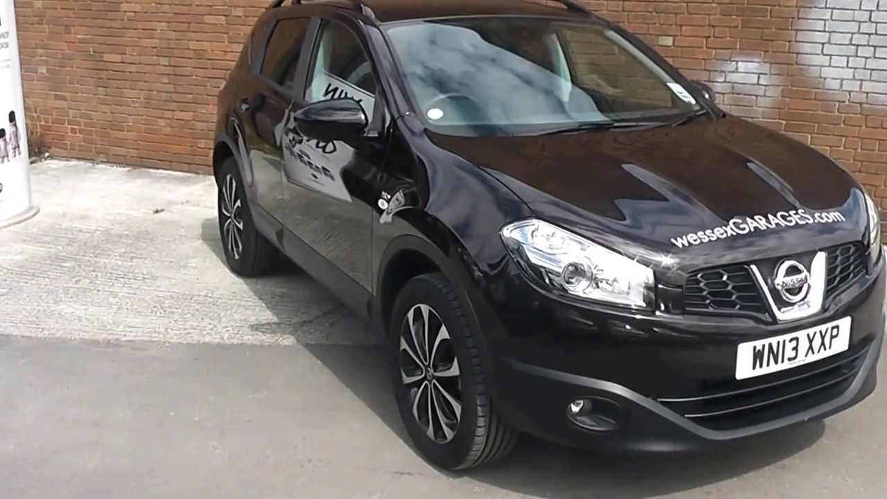 Wn13xxp Nissan Qashqai 360 In Nightshade At Wessex Garages