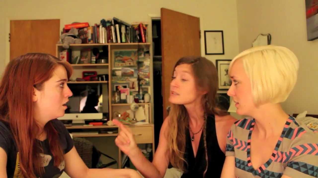 lesbian flirting body language