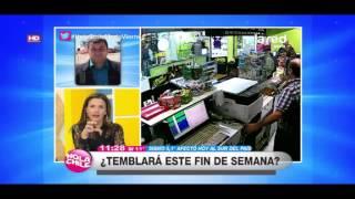 Sismo se registró en el sur de Chile: A...