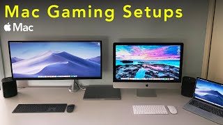 Mac Gaming Setups (30K subscriber edition)