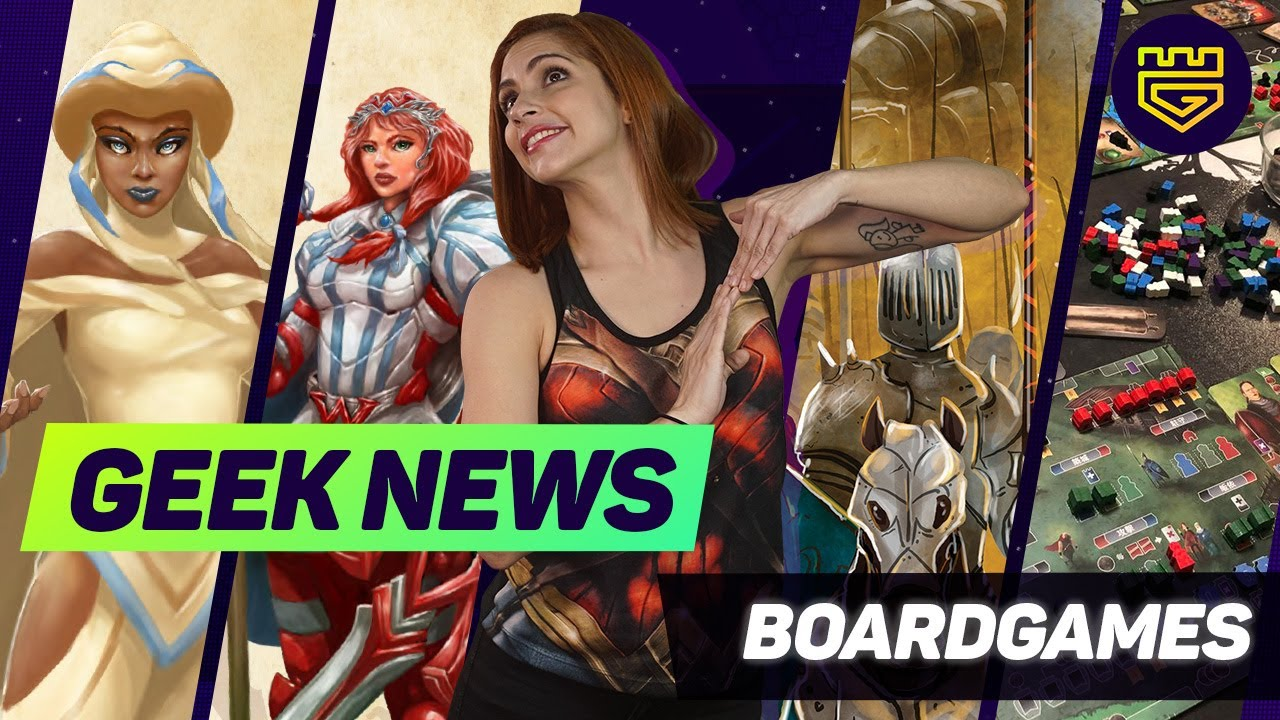 ¡Geek News: Boardgames! Feast of Legends y  Paladins of the West Kingdom