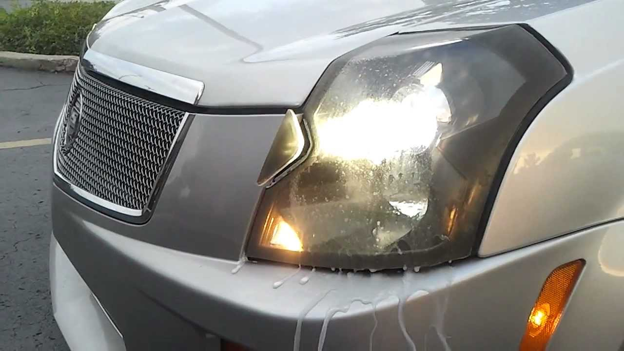 Cts V Headlight Washers Youtube