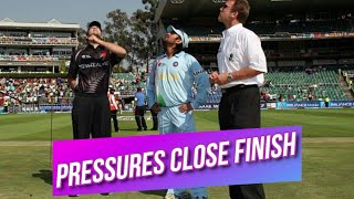 India Close Finish   Pressure Game against New Zealand at Johannesburg T20 World Cup 2007 Highlights