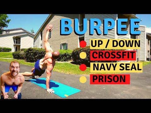 BURPEE // CROSSFIT Vs NAVY SEAL Vs PRISON Burpee's