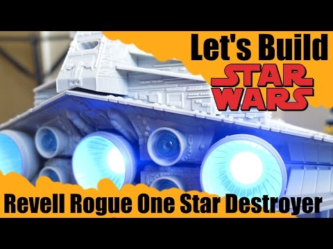 Revell Rogue One Star Destroyer Snap-Tite Model - Let's Build