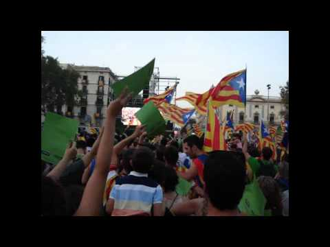 Independence Rally in Catalonia | LIVE | Manifestacio Independencia Catalunya | Part 1