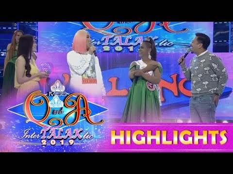 It's Showtime Miss Q and A: Vice and Jhong talk about bananas