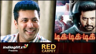 I promise Tik Tik Tik will be world-class standard : Jeyam Ravi | Sangamithra, Red Carpet Interview