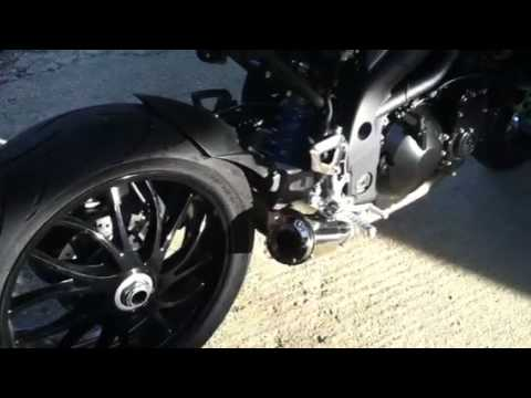 Extremeblaster XB with sound arrester Triumph Speed Triple