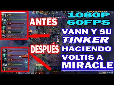 VANN SE RECUPERA Y LE VOLTEA EL DOTA A MIRACLE | 1080P 60FPS | DOTA 2