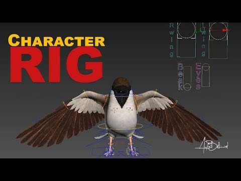 Rig: 3D sparrow thumbnail