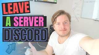 How To Leave A Discord Server On Mobile 2020