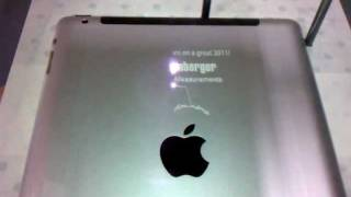 HOW AN APPLE IPAD IS LASER ENGRAVED