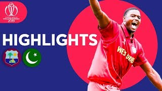 Pakistan Bounced Out For 105 | Windies Vs Pakistan   Match Highlights | Icc Cricket World Cup 2019