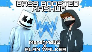 Alan Walker Vs MarshMello Alone Mashup [BASS BOOSTED]