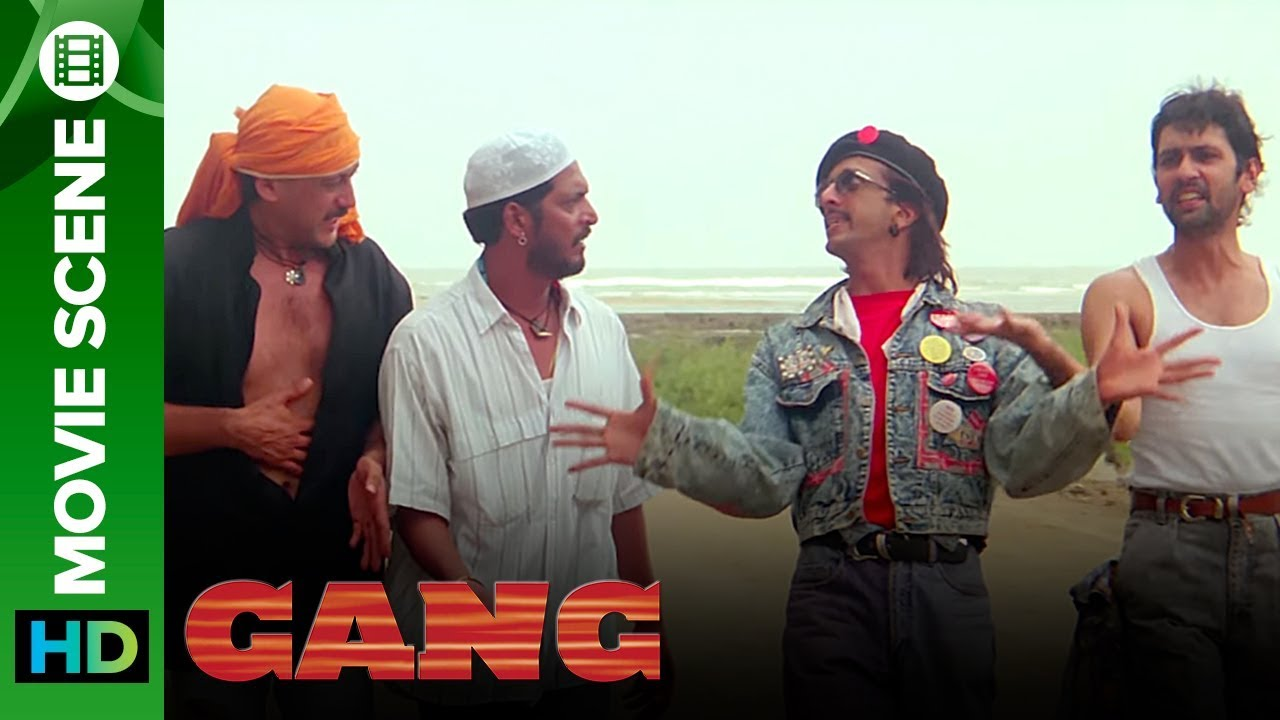 Download Gangs of Bollywood 1990   Jackie Shroff, Nana Patekar, Kumar Gaurav & Jaaved Jaffrey