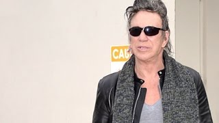 Mickey Rourke Confirms An Upcoming Boxing Match In March