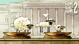 Обложка ТРИ ОВЕЧКИ В ЛОНДОНЕ Home Sheep Home 2 Lost In London