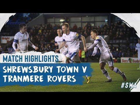 Shrewsbury Tranmere Goals And Highlights
