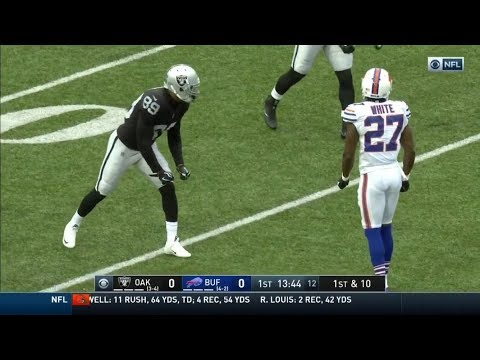 Amari Cooper vs Tre'Davious White (2017) | WR vs CB Matchup