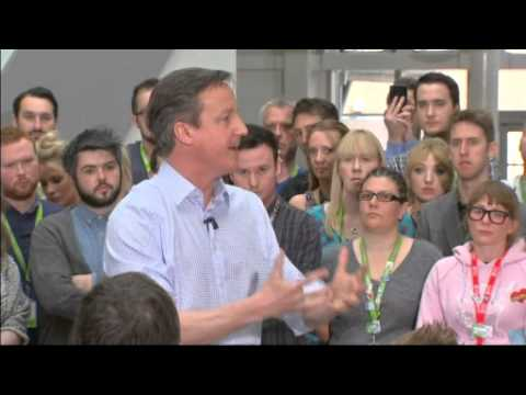 David Cameron gaffe: This is a real 'career-defining' election