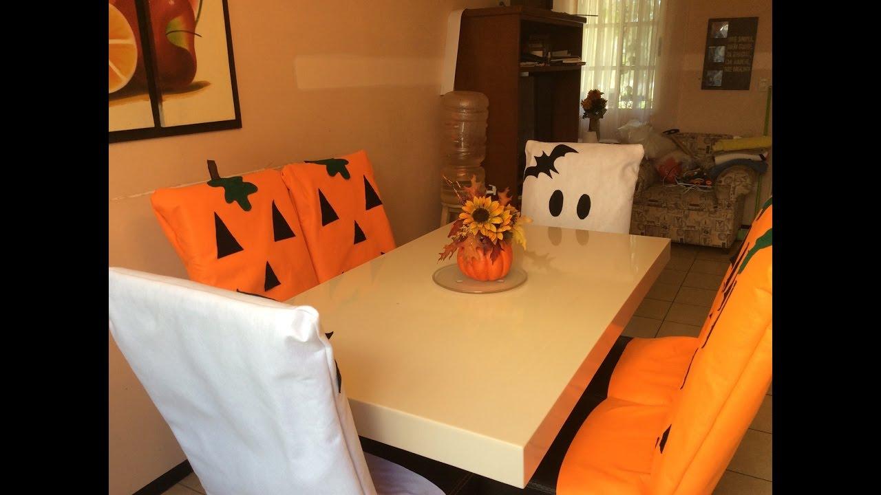 Fundas para sillas de hallowen youtube - Fundas para sillas de eventos ...
