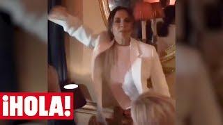 VICTORIA BECKHAM revoluciona las redes bailando al ritmo de las Spice Girls