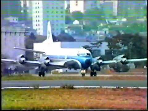 PP-VNJ - Aeroporto Campo de Marte (MAE/SBMT) - São Paulo-SP - Lockheed Electra II - VARIG