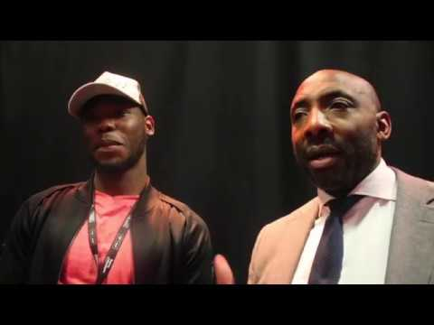 JOHNNY NELSON & ISAAC CHAMBERLAIN DISCUSS DAVID HAYE v TONY BELLEW / & NELSON BIGS UP CHAMBERLAIN!