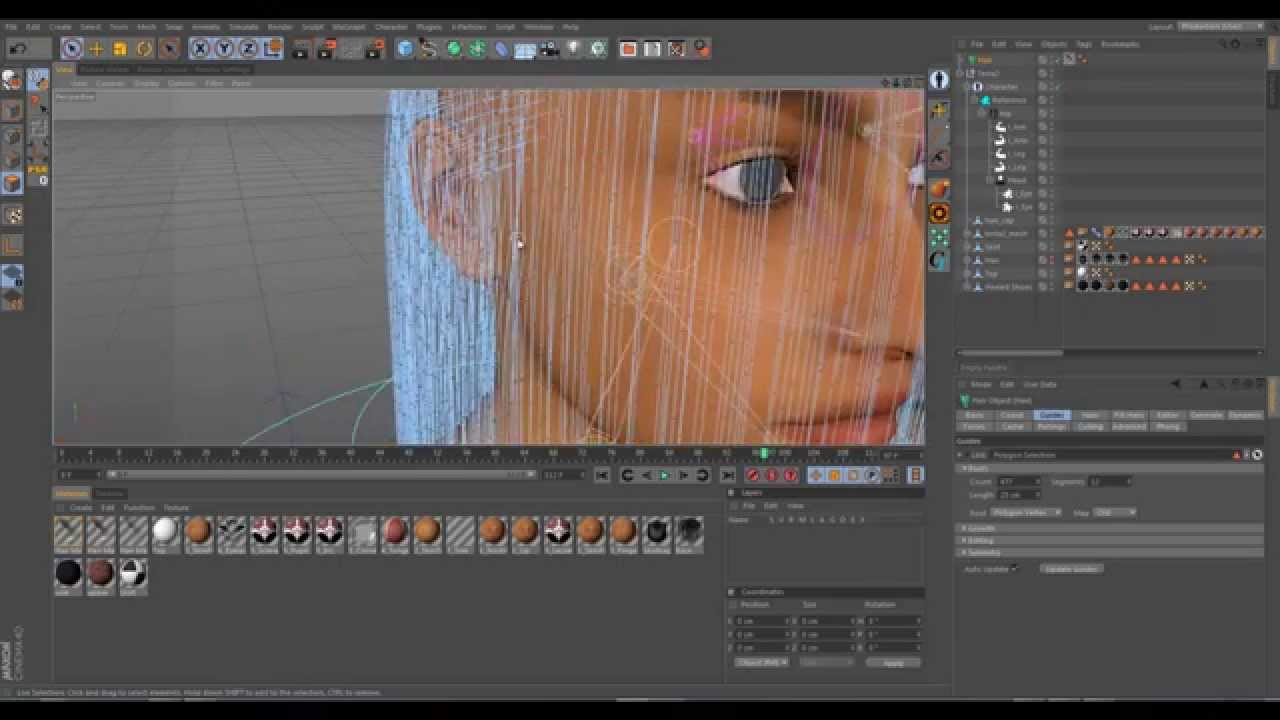 03 rendering cinema 4d hair with arnold and xgen part 1 youtube rendering cinema 4d hair with arnold and xgen part 1 youtube maxwellsz