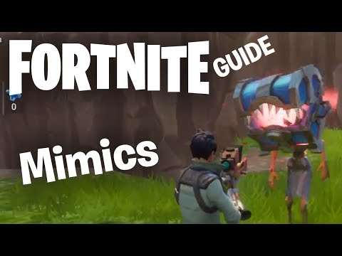 Fortnite's Mimics: Detecting & Fighting Strategies