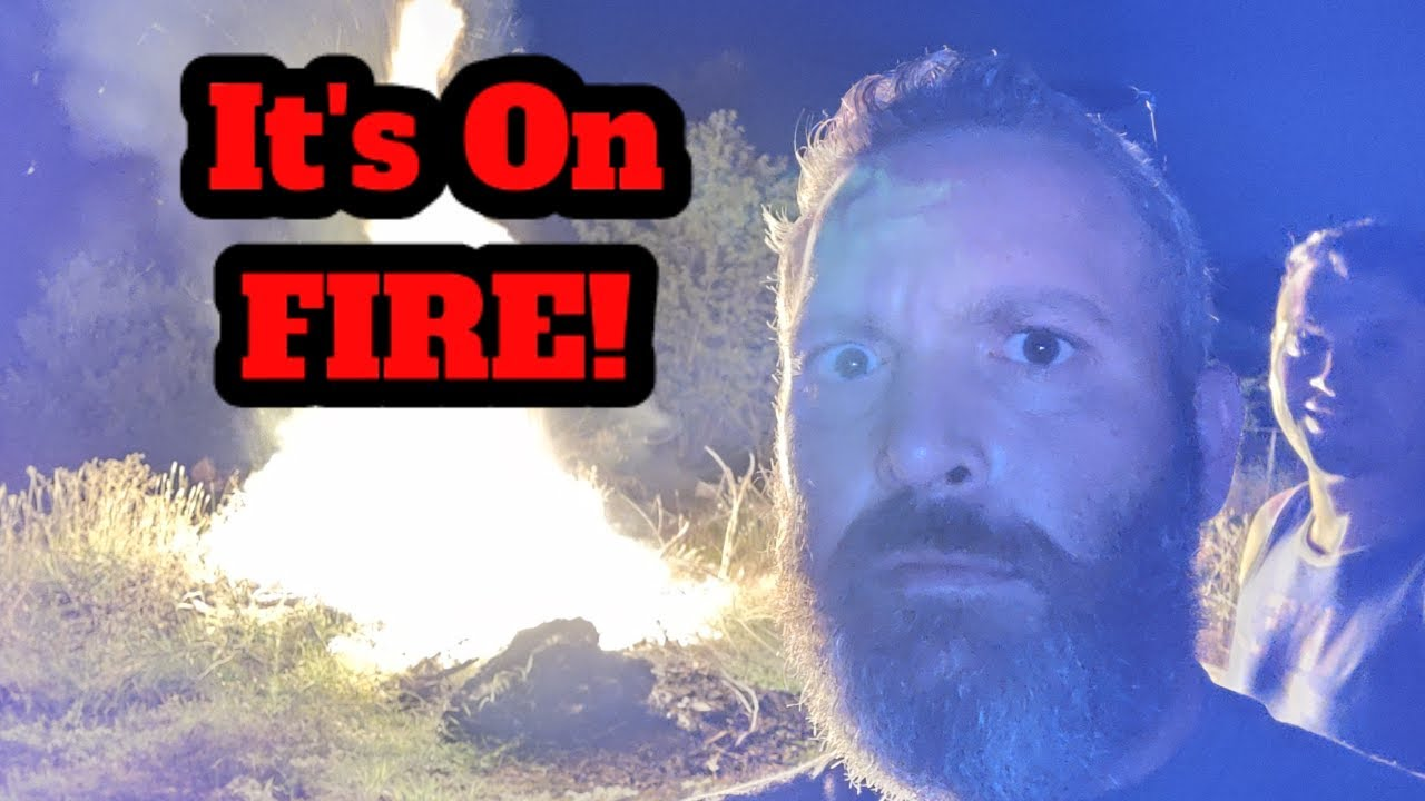 It's ALL On Fire! - Short Saturday Night Hangout!