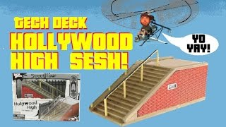Tech Deck HollyWood High Sesh!! (T.F.T. 1-27-15)